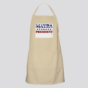 MAYRA for president BBQ Apron