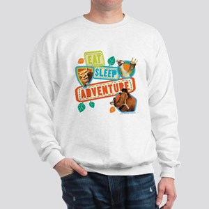 Ice Age Eat Sleep Adventure Sweatshirt