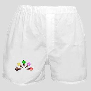 Ice Cream Fan Boxer Shorts
