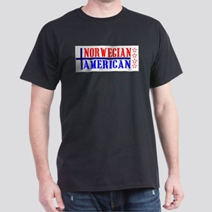 Norwegian American Ash Grey T-Shirt