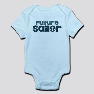 US Navy Future Sailor Infant Bodysuit