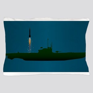 Missile Undersea Launch Pillow Case