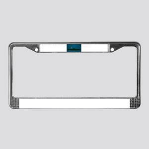 Missile Undersea Launch License Plate Frame