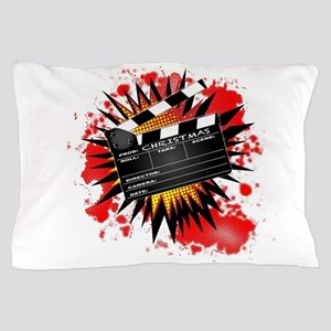 Christmas Clapperboard Pillow Case