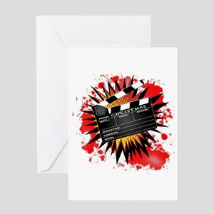 Christmas Clapperboard Greeting Cards