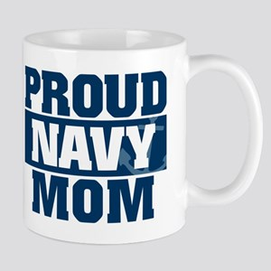 US Navy Proud Navy Mom Mug