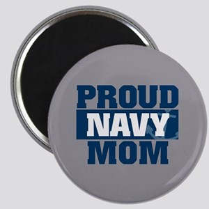 US Navy Proud Navy Mom Magnet