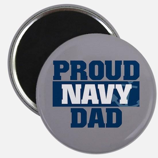 US Navy Proud Navy Dad Magnet