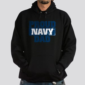 US Navy Proud Navy Dad Hoodie (dark)