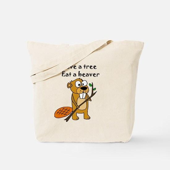 Cute Beaver to be Tote Bag