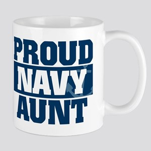 US Navy Proud Navy Aunt Mug