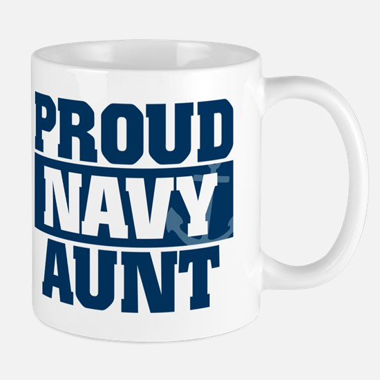 US Navy Proud Navy Aunt Mug