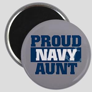 US Navy Proud Navy Aunt Magnet