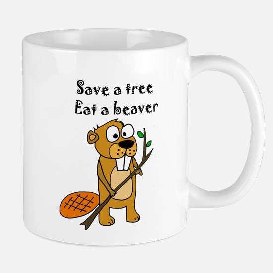 Funny Beaver Mugs