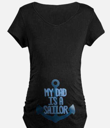 US Navy My Dad is a Sailor T-Shirt