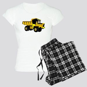 Dump Truck Women's Light Pajamas