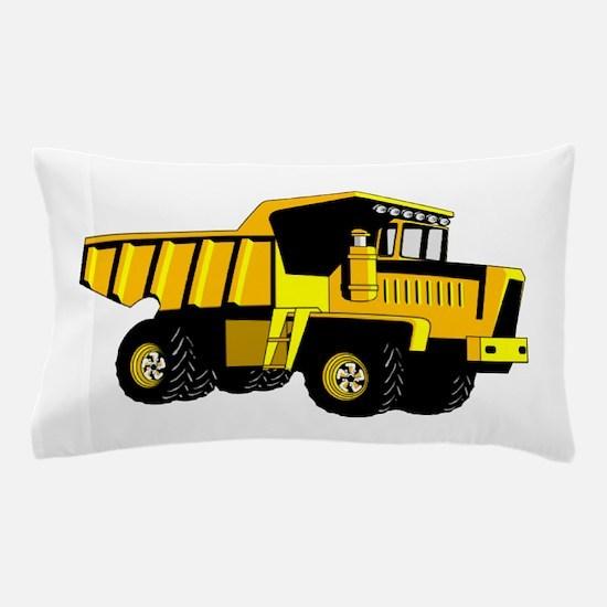 Dump Truck Pillow Case