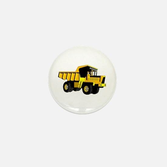 Dump Truck Mini Button
