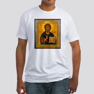 Jesus Christ Russian Icon T-Shirt