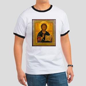 Jesus Christ Russian Icon T-Shirt