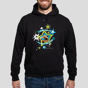 Ice Age Scrat In the Stars Hoodie (dark)