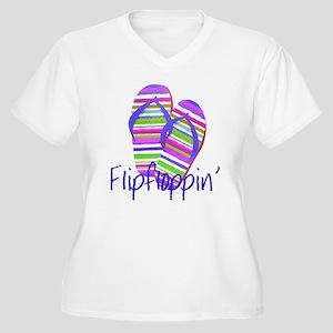 Flip floppin' Plus Size T-Shirt