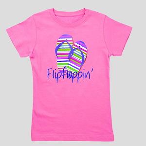 Flip floppin' Girl's Tee