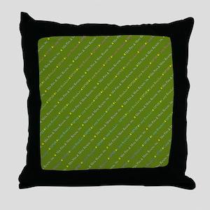 MPMR 2016 Pattern Throw Pillow
