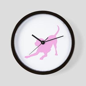 Lab 1C Pink Wall Clock