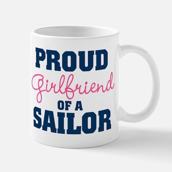 US Navy Proud Girlfriend of a Sailor Mug