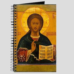 Jesus Christ Russian Icon Journal