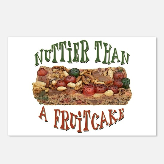 Nuttier than a Fruitcake Postcards (Package of 8)