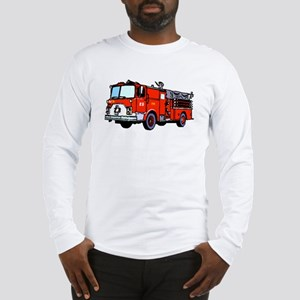 Fire Truck Long Sleeve T-Shirt