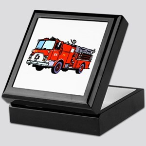 Fire Truck Keepsake Box