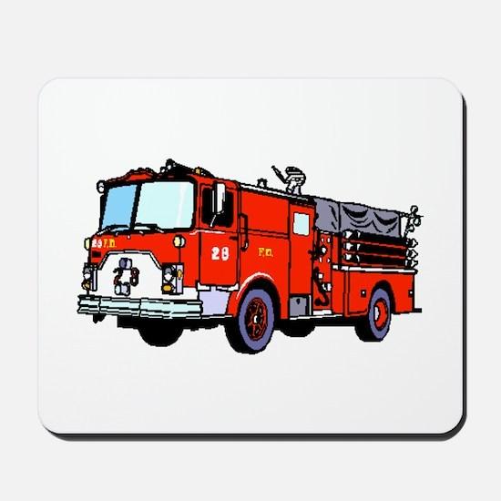 Fire Truck Mousepad