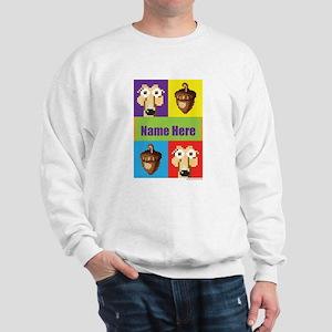 Ice Age 8-Bit Scrat Personalized Sweatshirt