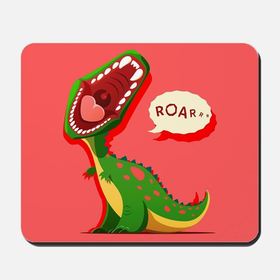Cute Dinosaur Mousepad