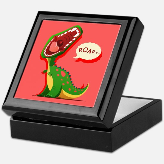 Cute Dinosaur Keepsake Box