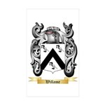 Willame Sticker (Rectangle 10 pk)