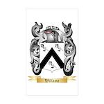 Willame Sticker (Rectangle 50 pk)