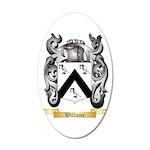 Willame 20x12 Oval Wall Decal