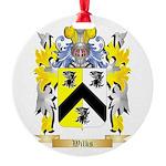 Wilks Round Ornament