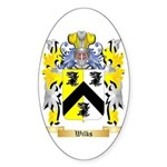 Wilks Sticker (Oval 50 pk)
