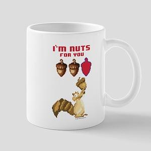 Ice Age 8-Bit Scrat Nuts Mug