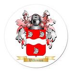Wilkinson 2 Round Car Magnet