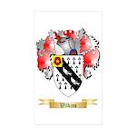 Wilkins Sticker (Rectangle 50 pk)