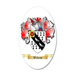 Wilkins 20x12 Oval Wall Decal