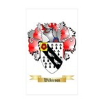 Wilkieson Sticker (Rectangle 10 pk)