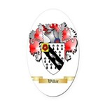 Wilkie Oval Car Magnet
