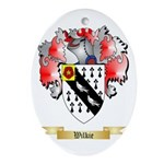 Wilkie Oval Ornament